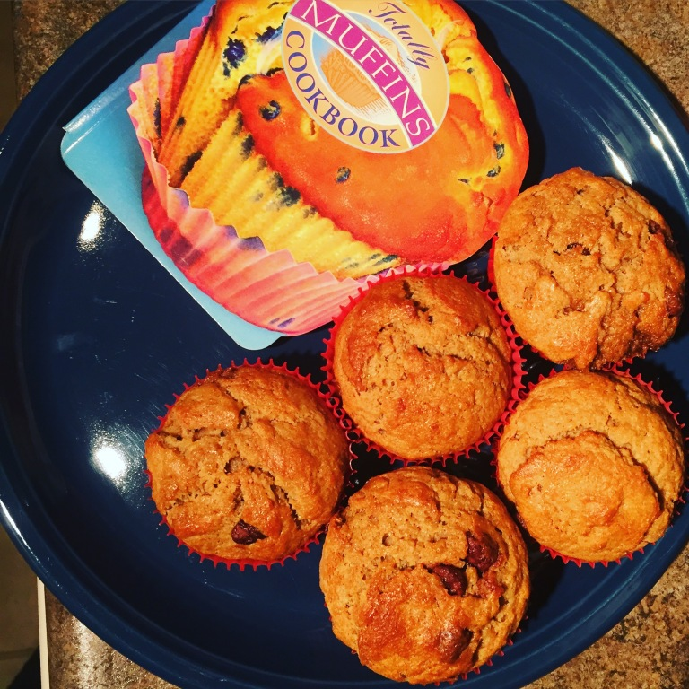 banana chocolate chips muffins 3